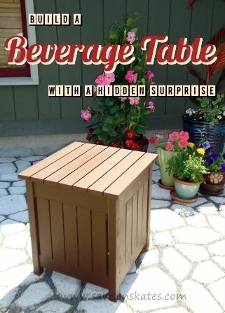 Outdoor Beverage Table