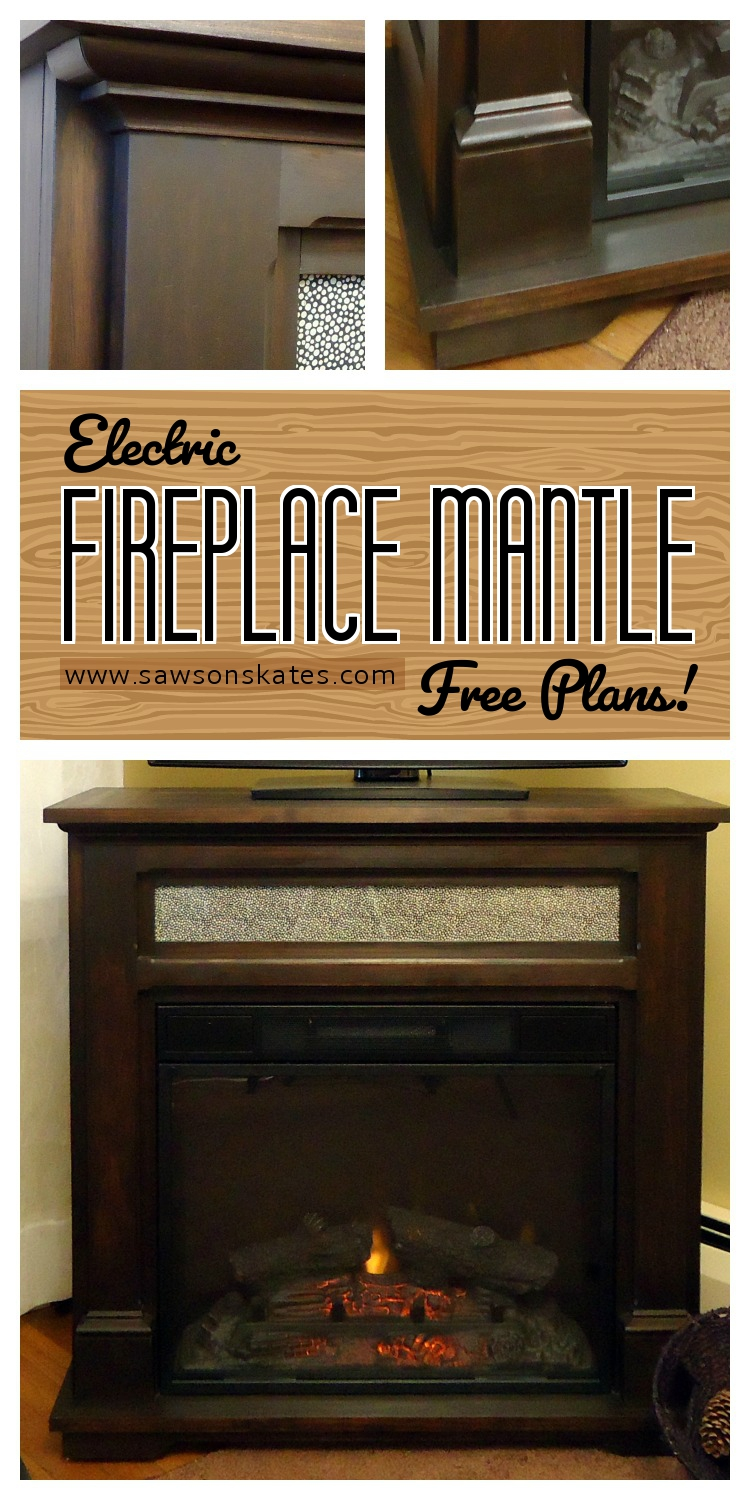 how to electric fireplace mantle free diy plans saws. Black Bedroom Furniture Sets. Home Design Ideas